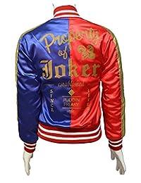 Harley Quinn Margot Robbie HQ Satin Jacket - Suicide Squad Jacket