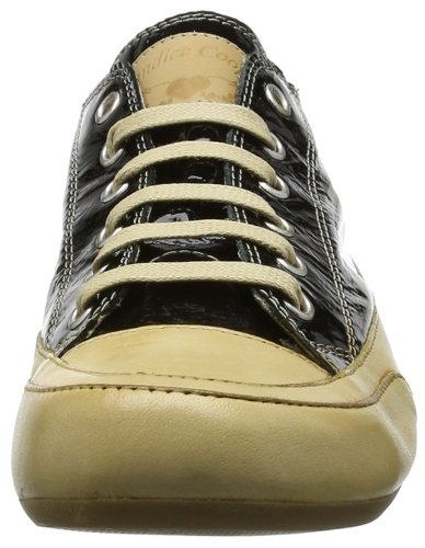 Sneaker Plus nero Cooper Donna velluto Schwarz Candice bord Nero noir BHwqIzAW