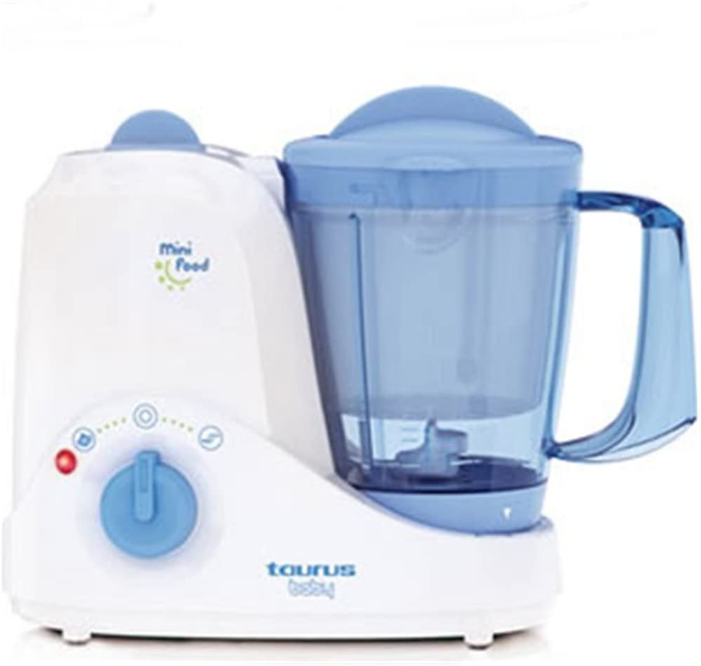 Taurus Mini Food Robot cocina, 380 W, 4 funciones, 1.2 l, Azul ...