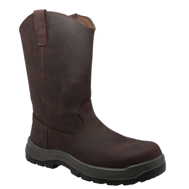 """AdTec 12"""" CT Waterproof Wellington Men's Boot"""