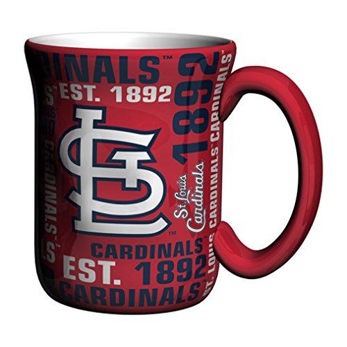 - Boelter Brands MLB St. Louis Cardinals Sculpted Spirit Mug, 17-Ounce