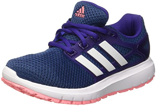 adidas Women's Energy Cloud WTC Running Shoes Multicolour (Collegiate Purple/Ftwr White/Ray Pink)
