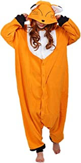 wotogold Animal Fox Pajamas Unisex Adult Cosplay Costumes