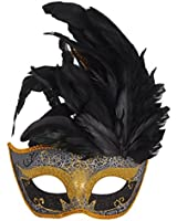 Coxeer® Party Venetian Feather Mask