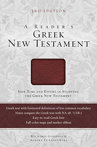 A Reader's Greek New Testament: Third Edition (Analytical Lexicon Of The Greek New Testament)