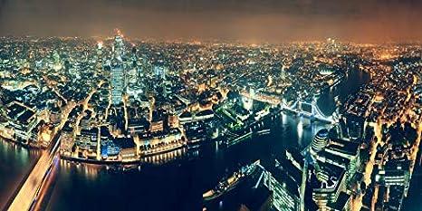 OERJU 6x3,5m Ciudad de Londres Fondo Precioso Londres Río ...