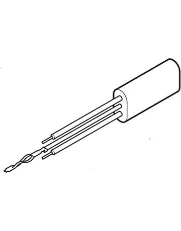 Aerzetix Kondensator st/ändigen f/ür Motor 15/µF 475V mit Kabel 25cm