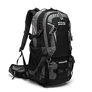 ROYAL MOUNTAIN Hiking Backpack Waterproof Outdoor Sport Daypack with Rain Cover (35L)