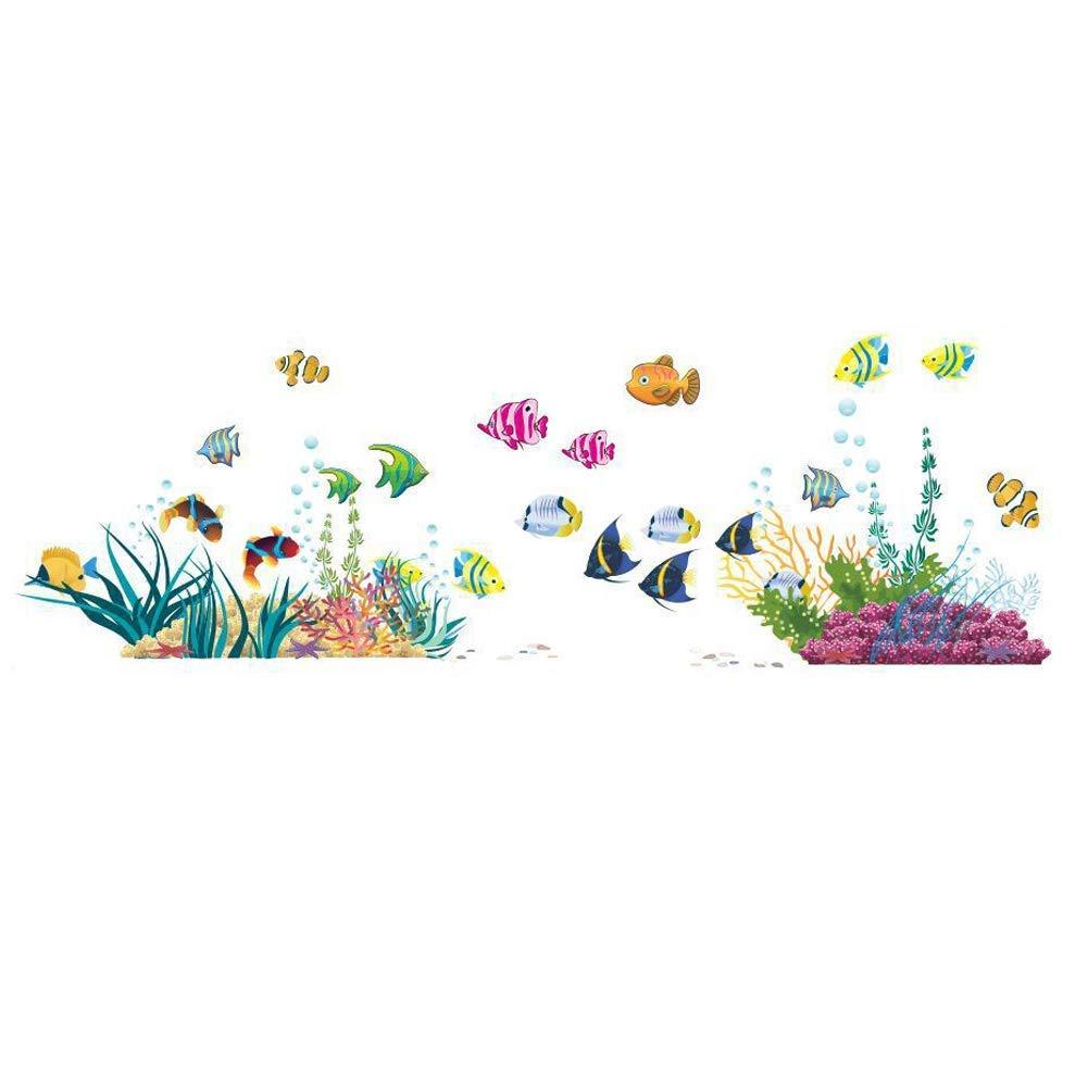 Amazon Under The Sea Decorative Peel And Stick Wall Art Sticker