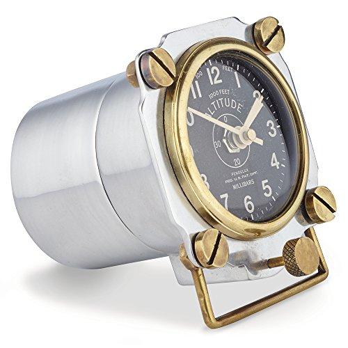 - Pendulux, Table Clock - Altimeter (Aluminum)