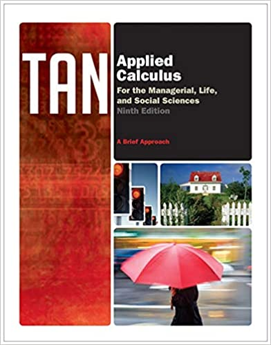 edition 8 applied calculus