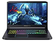 "Acer Predator Helios 300 Gaming Laptop PC, 17.3"" Full HD 144Hz 3ms IPS Display, Intel i7-9750H, GeForce RTX 2070 Max-Q, 16GB DDR4, 512GB PCIe NVMe SSD, RGB Backlit Keyboard, PH317-53-79KB"