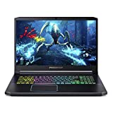 "Acer Predator Helios 300 Gaming Laptop PC, 17.3"" Full HD 144Hz 3ms IPS Display, Intel i7-9750H, GeForce RTX 2070 MAX-Q, 16GB DDR4, 512GB PCIe NVMe SSD, RGB Backlit Keyboard, PH317-53-79KB"