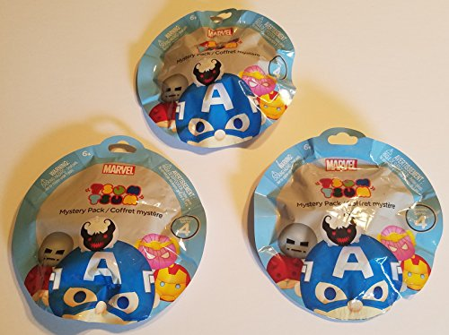 Price comparison product image Disney Tsum Tsum Mystery Pack Marvel Series 4 set of 3