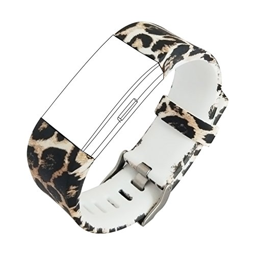 KisFace for Fitbit Charge 2 Replacement Elastomer Bands, Accessories Wristbands Small Large Photo Printing Series with Various Topics