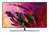 """Samsung QN55Q7F Flat 55"""" QLED 4K Ultra HD Smart TV (2018), Eclipse Silver"""