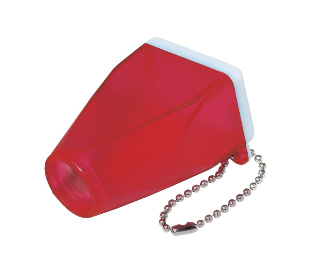 Red Translucent Full Frame Viewer Keychain - Case of 50