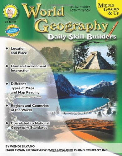World Geography, Middle Grades & Up (Daily Skill Builders)