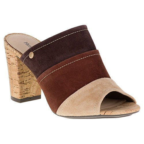 Hush Puppies de la mujer Mora Malia Slide Sandal Dark Brown Suede