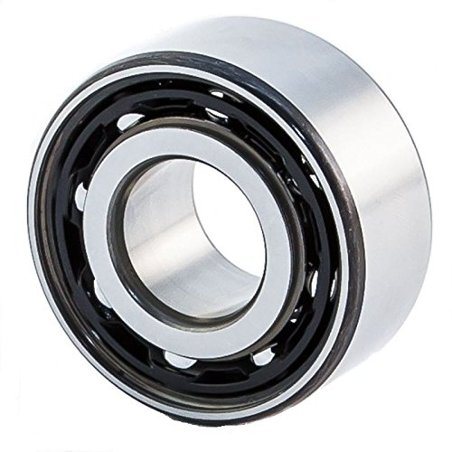 FAG Bearings 3211-BD-TVH Angular Contact Bearing, 33.3' Height, 100' Width, 3.9' Length, 55 mm Bore, 100 mm OD, Polyamide, Open, 30° Contact Angle 33.3 Height 100 Width 3.9 Length Miller Bearings