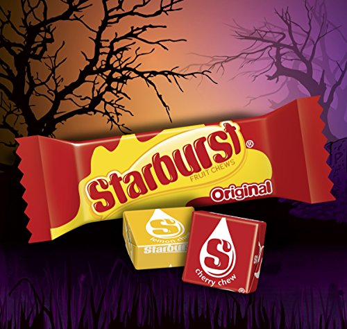 Large Product Image of Assorted Wrigley Skittles, Starburst and Hubba Bubba Gum Halloween Candy Bag, 200 Fun Size Pieces, 82.98 ounces