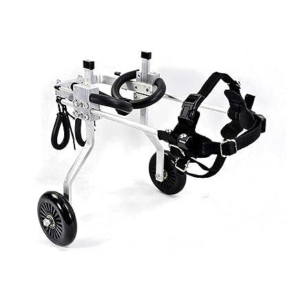 Silla de ruedas para mascotas, silla de ruedas para perros, gato y pata trasera