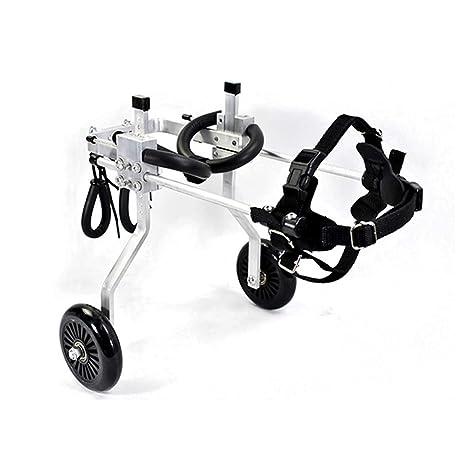 GHMHJH Ciclomotor de Mascota - Silla de Ruedas de Perro, Andador de Perro Viejo,