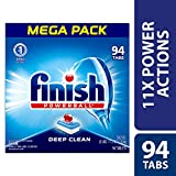 Finish - All in 1-94ct - Dishwasher Detergent - Powerball - Dishwashing Tablets - Dish Tabs - Fresh Scent (Packaging May Vary)