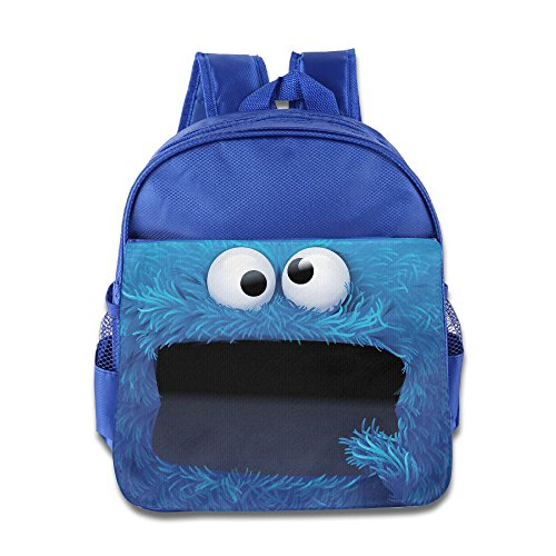 Price comparison product image Cookie Monster Custom Unisex Children School Bag Latest
