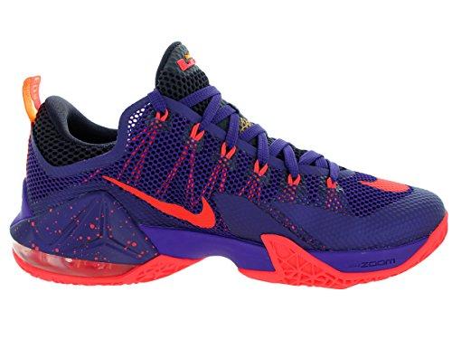Nike Lebron XII Low Basketball Shoe Crt Prpl/Brght Crmsn/Cv Prpl/L gVDam