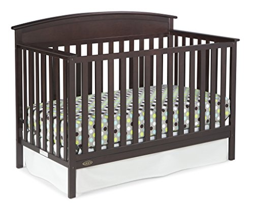 - Graco Benton 4-in-1 Convertible Crib (Espresso) - Easily Converts to Toddler Bed, Daybed or Full-Size Bed with Headboard, 3-Position Adjustable Mattress Support Base