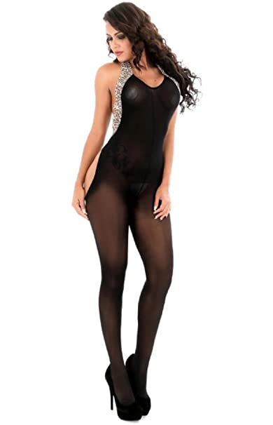 36c39fdb4d Image Unavailable. Image not available for. Colour  OnMeFocus Hot  Bodystocking Honeymoon Dress Lingerie for Women- WW38