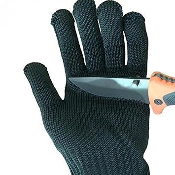 Arbeitshandschuhe, GOCHANGE Edelstahl-Drahtgewebe Handschuhe ...