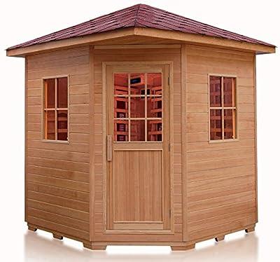 Outdoor Sauna Weather Resistant