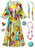 Sanctuarie Designs Rhapsody Hippie Dress Plus Size Supersize Halloween Costume