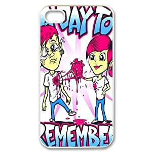 Customize Famous Rock Band A Day To Remember Back Case for iphone4 4S JN4S-1713