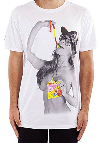 Unit Men's Python T Shirt White-3XL (Unit T Shirt compare prices)