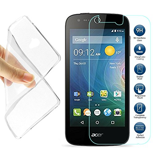 Tempered Glass for Acer Liquid Z330 (Clear) - 5