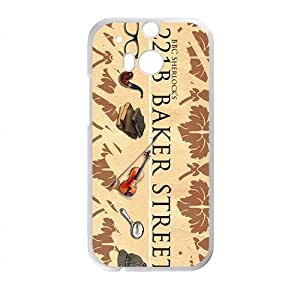 221B Baker Street Cell Phone Case for HTC One M8