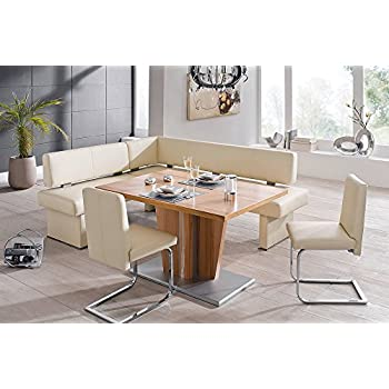 Amazon Com 4 Piece Modern Dining Set Queens 151 1 Home