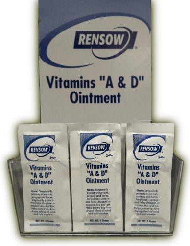 Rensow Super Vitaminas A y D pomada – Lámina de 144 paquetes – 5 gramos/