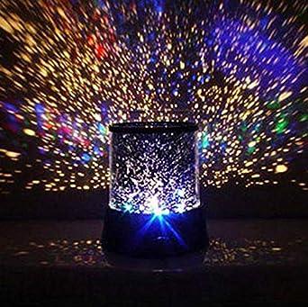 LED colorido estrella maestro cielo estrellado noche luz proyector ...