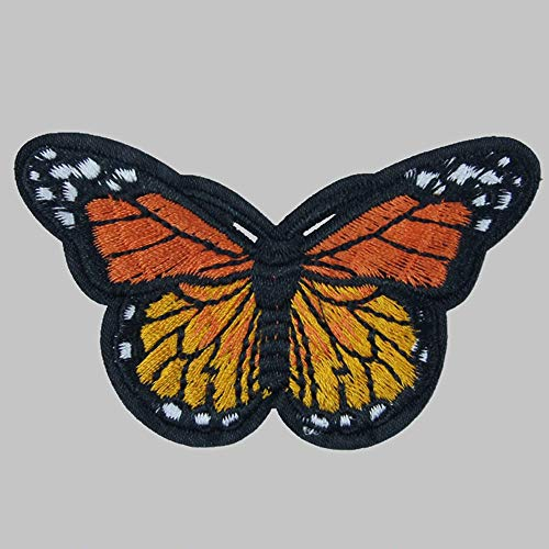 ️ Yu2d ❤️❤️ ️10PC Butterfly Collar Sew Patch Applique Badge Embroidered