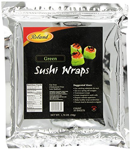 Roland Sushi Wraps Green Sheets