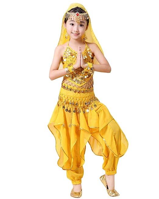 Lishui Niñas Mujer Disfraces De Danza del Vientre Halloween ...