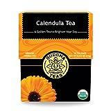 Organic Calendula Flower Tea - Kosher, Caffeine-Free, GMO-Free - 18 Bleach-Free Tea Bags