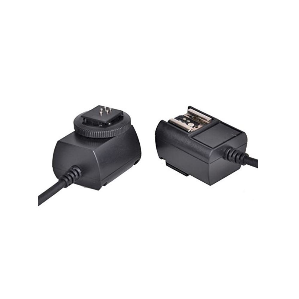 3 m, Negro, Female Connector//Female Connector, Canon, 127 g Godox TTL Shoe Cord Cable para c/ámara fotogr/áfica 3 m Negro Cable para c/ámaras fotogr/áficas