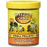 Omega One Goldfish Pellets - Small Sinking 4.2oz.