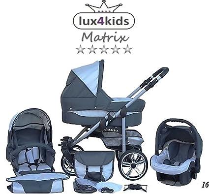Chilly Kids Matrix II 3 in 1 Cochecito Combinado (asiento ...