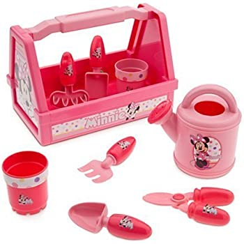 disney minnie mouse 9 piece gardening set toys games